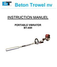 Port-a-vibe concrete vibrator