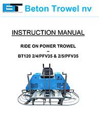 bt120 2/4/pfv35 & bt120-25/pfv35 non overlapper