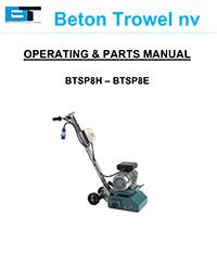 Manual BTSP8H BTSP8E