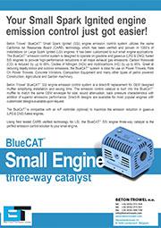 BT Bluecat emission control